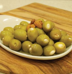 Almond Stuffed Olives 200g