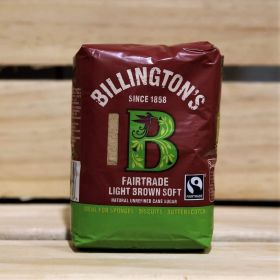 Billington's Fairtrade Dark Brown Soft Cane Sugar 500g