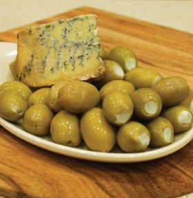 Blue Cheese Olive 200g