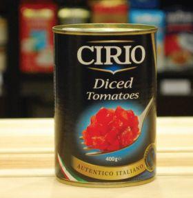 Cirio Diced Tomatos 400g
