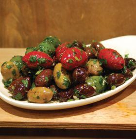 Marinated Mixed Olives 200g