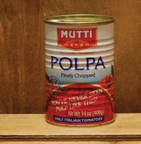 Mutti Polpa Di Pomodori Finely Chopped 400g