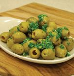 Pitted Green Olives 200g