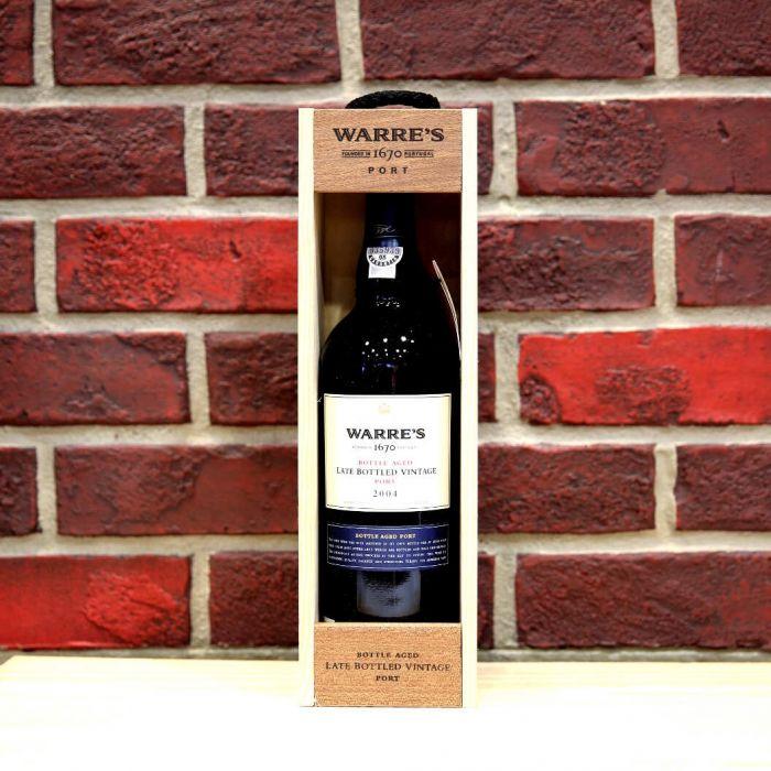 Warre's Late Bottled Vintage Port 2004