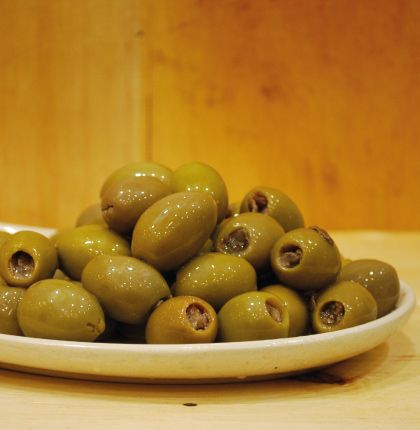 Anchovy Stuffed Olives 200g