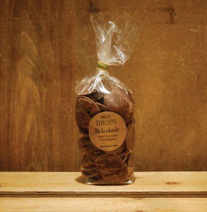 Belcolade Drops Milk Chocolate 200g
