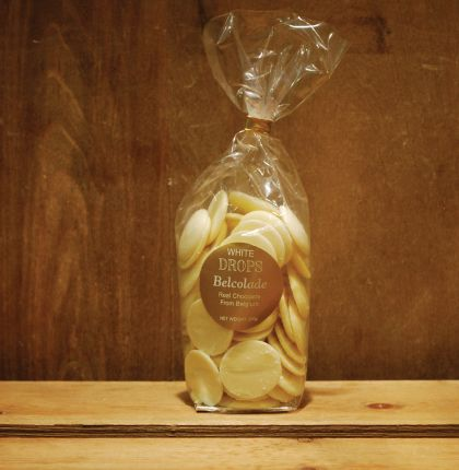 Belcolade Drops White Chocolate 200g