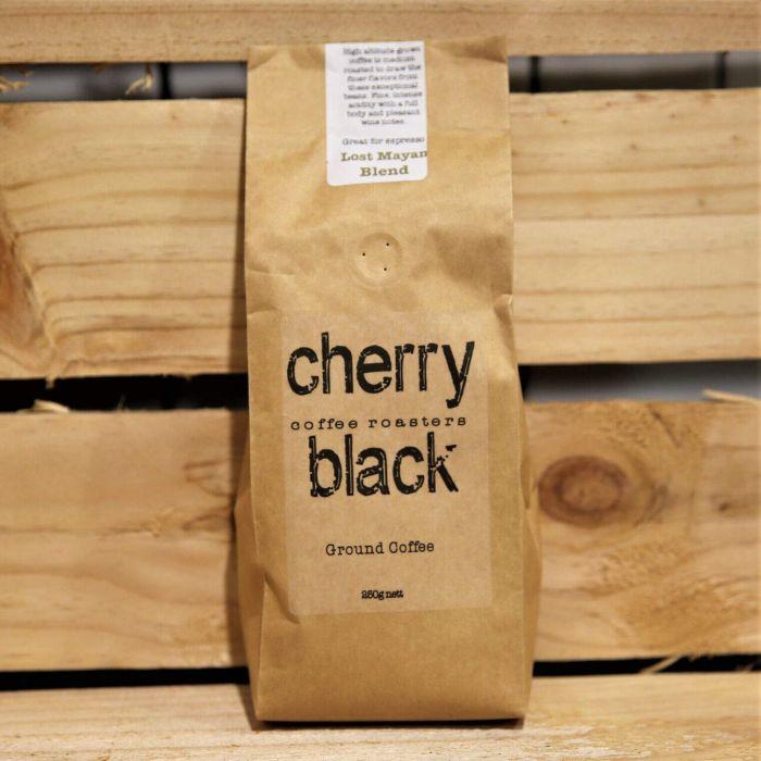 Cherry Black The Lost Mayan Blend Ground Coffee 250g