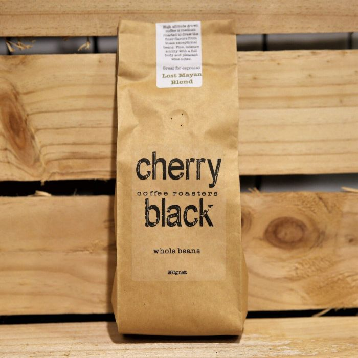 Cherry Black The Lost Mayan Blend Whole Beans 250g