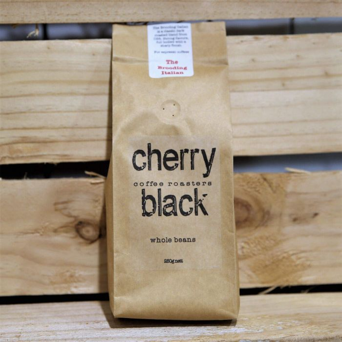 Cherry Black The Brooding Italian Whole beans 250g