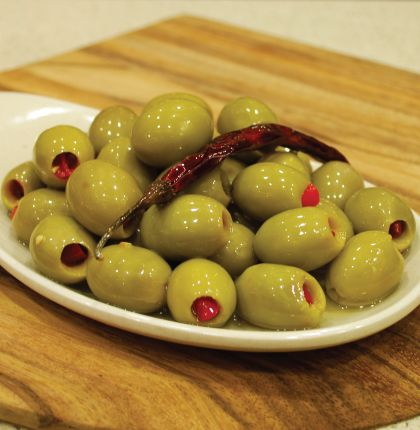 Chilli Stuffed Olives 200g