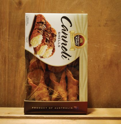 Crostoli King Lg Cannoli Shells 150g