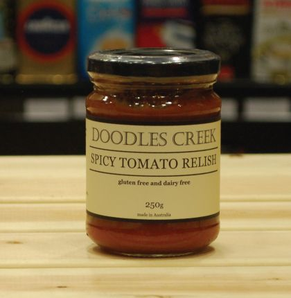 Doodles Creek Spicy Tomato Relish 250g