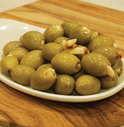 Garlic Filled Olives 200g