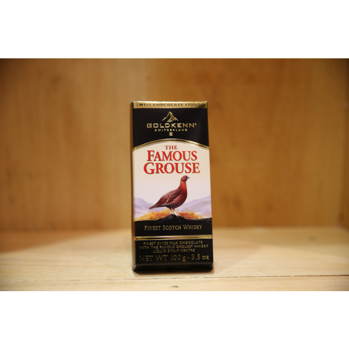 GOLDKENN FAMOUS GROUSE CHOCOLATE 100G