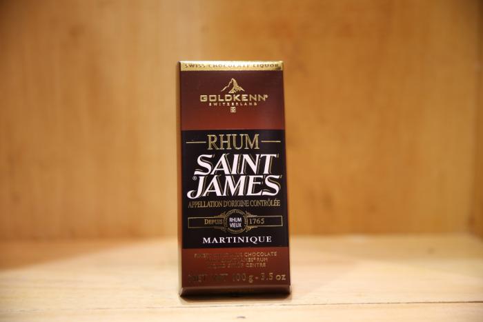 GOLDKENN ST. JAMES CHOCOLATE 100G