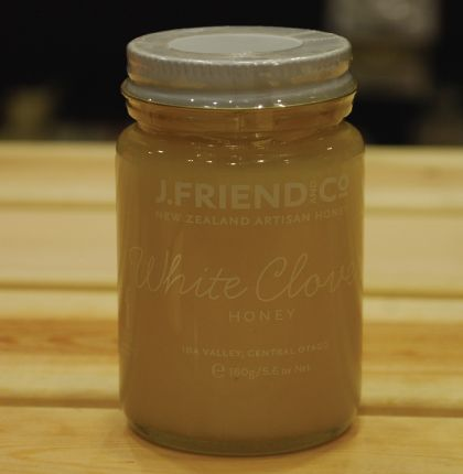 J.Friend & Co White Clover Organic Honey 160g