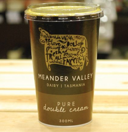 Meander Valley Pure Double Cream 300ml