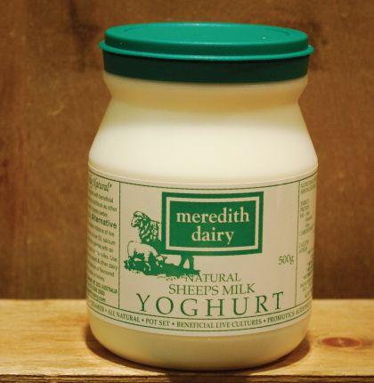 Meredith Green Label Yoghurt 500g