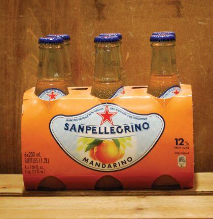 San Pellegrino Mandarino 6X200ml