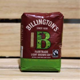Billington's Fairtrade Dark Brown Soft Cane Sugar 500g