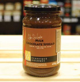 Classique Gourmet Milk Chocolate Spread 450g