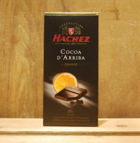 Hachez Coocoa D'Arriba Orange 100g