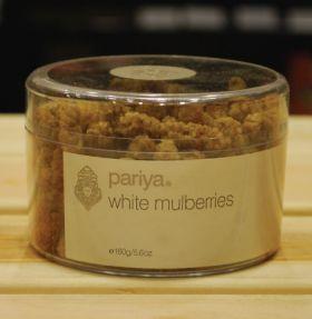 Pariya White Mulberries 160g