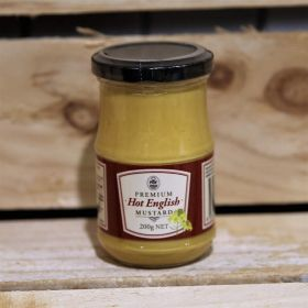 PGF Hot English Mustard 200g
