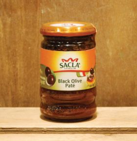 Sacla Black Olive Pate 190g