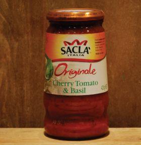 Sacla Cherry Tomato & Basil Pasta Sauce 420g
